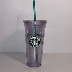 Starbucks 2009 Hawaii cold to go tumbler 20 oz cup